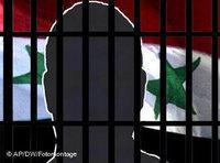 Symbolbild Syrische Opposition hinter Gittern; Foto: AP/DW