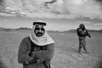 Irakischer Darsteller in Medina Wasl, Trainingscamp der US-Armee in der kalifornischen Mojave-Wüste; Foto: Tony Gerber