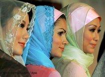 Boutique für Kopftücher; Foto: dpa