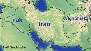 Karte Naher und Mittlerer Osten; &copy DW/AP