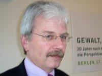 Dr. David Bloomfield, Glencree Centre for Peace and Reconciliation, Irland; Foto:&copy Ariana Mirza