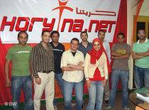 Redaktionsteam von Horytna; Foto: DW