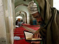 Afghanischer Muslim; Foto: AP