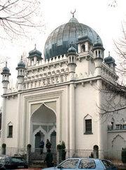 Die älteste deutsche Moschee in Berlin-Wilmersdorf aus den 1920er Jahren, Foto: DW