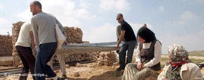 Israelisch-palästinensische Friedensinitiative bei Hebron; Foto: dpa