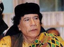 Muammar Gaddafi; Foto: AP
