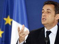 Nicolas Sarkozy; Foto: AP