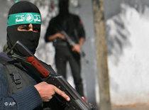 Bewaffneter Hamas-Kämpfer; Foto: AP