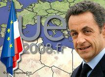 Symbolbild Sarkozy/Mittelmeerunion; Foto: DW