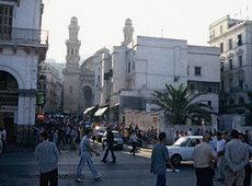 Blick auf die Altstadt Algiers; Foto: picture alliance