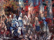 Bild der afghainschen Malerin Sheenkai; Foto: DW