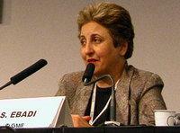 Bild Shirin Ebadi; Foto: GMF