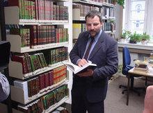 Islamforscher Muhammad Sven Kalisch; Foto: DW