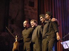Norbert Rodenkirchen, Albrecht Maurer, Saad Thamir, Bassem Hawar (v.l.n.r.); Foto: &copy Christoph Sebastian