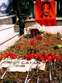 Grab des 1972 gestorbenen türkischen Revolutionärs Mahir Cayan, Foto: privat