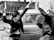 Studentenunruhen in in Ankara 1969 ; Foto: dpa