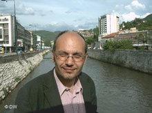 Zafer Senocak in Sarajevo 2005; Foto: DW