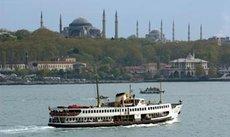 Fähre auf dem Bosporus; Foto: AP