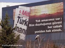 Medienkonzern Dogan Medya in Istanbul; Foto: dpa
