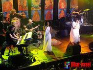 Das Idan Raichel Project live auf der Bühne; Foto: Kikar-Israel