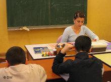 Förderunterricht in der Neumark-Grundschule in Berlin-Schöneberg; Foto: DW