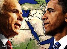 Symbolbild Barack Obama wird neuer Präsident der USA; Foto: AP/DW