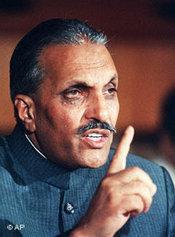 Bild Zia ul-Haq 1986; Foto: AP