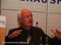 Henner Fürtig von Wissenschaftlicher Mitarbeiter GIGA-Institut für Nahost-Studien Hamburg; Foto: Konrad Adenauer Stiftung