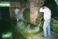 Traditionelle Seifenfabrik in Damaskus, Syrien; Foto: Antje Bauer
