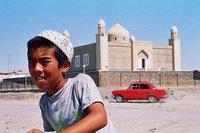 Neu erbaute Moschee in Shetpe in Westkasachstan; Foto: Edda Schlager