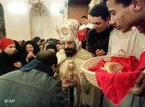 Koptische Christen in Kairo; Foto: AP