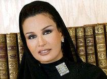 Bild Sheikha Mozah bint Nasser al-Missned; Foto: AP