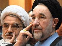 Die beiden Reformpolitiker Abdollah Nuri und Mohammad Khatami; Foto: Kosoof