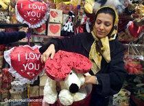 Valentinstag im Iran; Foto: picture alliance/dpa