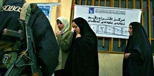 Wahlen in Arbil; Foto: AP/Sasa Kralj