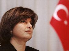 Die türkische Außenministerin Tansu Ciller; Foto: AP