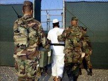 Häftling im Gefangenenlager Guantánamo; Foto: dpa