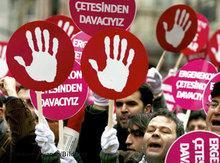 Proteste gegen Ergenekon in Istanbul; Foto: dpa