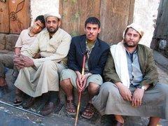 Bevölkerung Sanaas; Foto: Guy Helminger