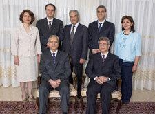 Mitglieder des nationalen Bahai-Führungsgremiums im Iran; Foto: DW