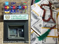 Fotomontage Islamic Banking; Foto: dpa/DW