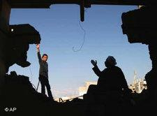 Ruinen in Gaza; Foto: AP