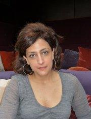 Die palästinensische Regisseurin Najwa Najjar; Foto: Antje Bauer