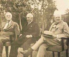 Roosevelt, Inönü und Churchill auf der zweiten Kairo Konferenz 4.-6.12.1943; Foto: Wikipedia