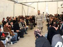 Irakische Flüchtlinge in Syrien; Foto: AP