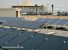 Milliardäre bauen in Abu Dhabi das Silicon Valley der Solarbranche; Foto: dpa