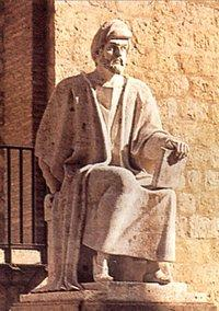 Statue Averroës im spanischen Córdoba; Foto: Wikimedia Commons