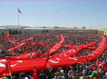 Demonstration gegen Ministerpräsident Erdogan in Ankara; Foto: AP