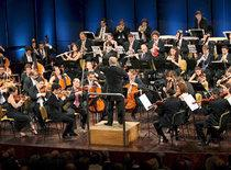 Das Orchester in Ramallah; Foto: dpa