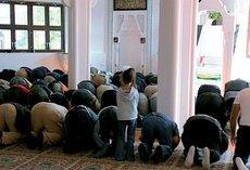 Freitagsgebet in der neuen Moschee von Wertheim; Foto: SWR/Jan Gabriel
